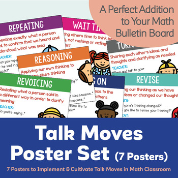 Talk Moves Poster Set (7 Posters)