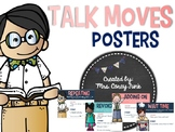 Talk Moves Posters Accountable talk Discussion Strategies Anchor Charts