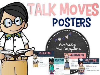 Talk Moves Posters Accountable talk Discussion Strategies