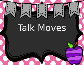 Talk Moves Powerpoint