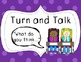 """Talk-Moves"" Classroom Discussion Student Posters"