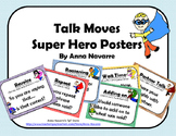 Talk Moves Super Hero Posters