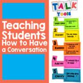 Talk Moves / Talk Tools for Classroom Discussions