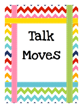 Talk Moves for the Classroom Poster Set
