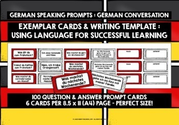 GERMAN CONVERSATION CARDS 1
