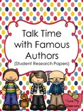 Talk Time with Famous Authors