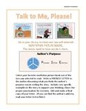 Author's Purpose:Talk To Me, Please!