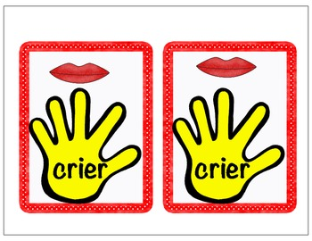 Talk To The Hand  - R -Controlled vowels ire, ier, ure card game