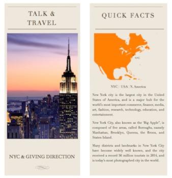Talk & Travel - NYC