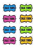 Talk Turns - Taking Turns During Literature Discussion {FREEBIE}