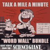 Talk a Mile a Minute and Word Wall Bundle