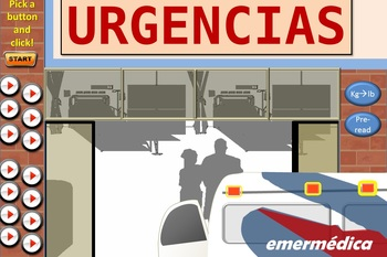 """Visit"" a Bogotá ER to practice health vocab with this hospital simulator! Lvl 3"