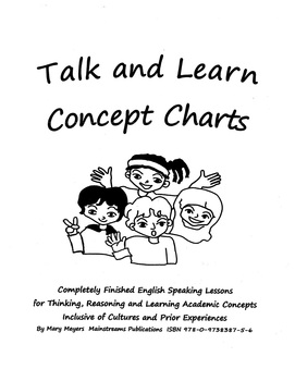 Talk and Learn Charts Grade 4+ Mixed Level Classes/High Basic, Gr. Jr+