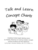 Talk and Learn Charts Grade 4+ Mixed Level Classes/High Ba