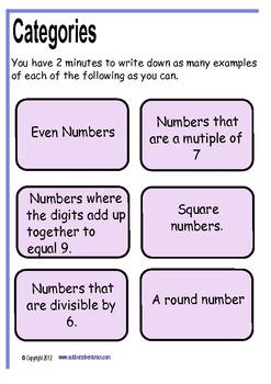 Talk for Mathematics
