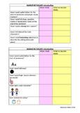 Talk for Writing Narrative tool kit self-assess checklist