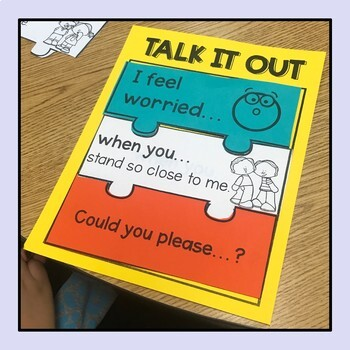 Talk it Out I-Message Puzzles Activity