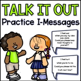 Talk it Out I-Message Statement Cards