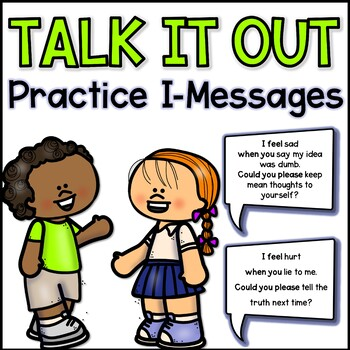 Talk it Out I-Message Practice Statement Cards