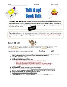 Talk it Up: Book Talk
