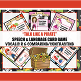 Talk like a Pirate - Vocalic R- Speech Therapy Cards