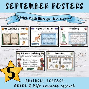 September Special Events Freebie
