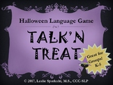 Talk'n Treat Halloween Speech Therapy Board Game for Indiv
