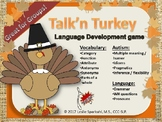 Talk'n Turkey Thanksgiving Language Development Game!