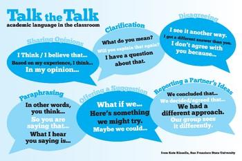 Talk the Talk (Accountable Talk)
