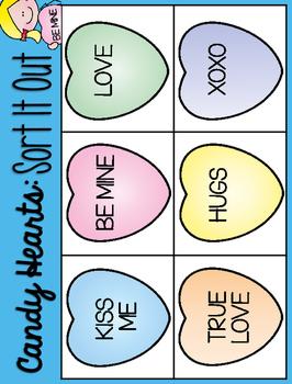 Talk to Me Sweetheart!  Conversation Heart Activities