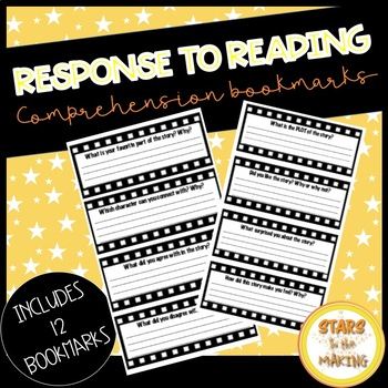 Engaging Comprehension Bookmarks