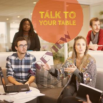 Talk to your table