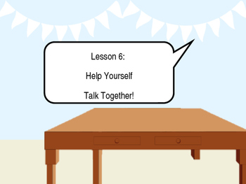 Talk together powerpoint, reading and practicing