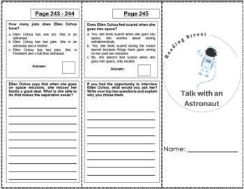 Talk with an Astronaut - 5th Grade Reading Street