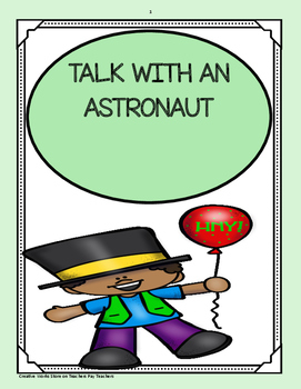 Talk with an Astronaut - Trifolds Reading Street