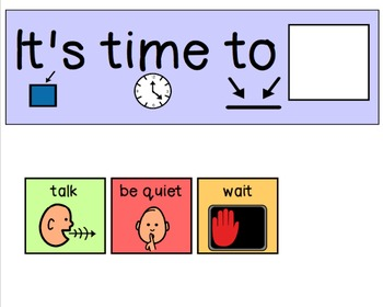 Voice Levels Visual for Autism / Special Education