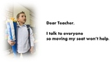 Talkative Student