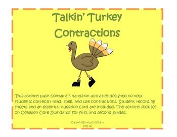 Talkin' Turkey Contraction Pack