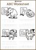 Talking ABC Animals for Kids Worksheet
