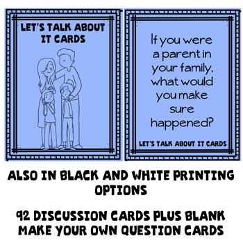 Divorce Discussion Cards