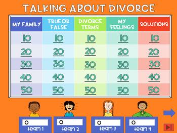 Talking About Divorce Quiz Show