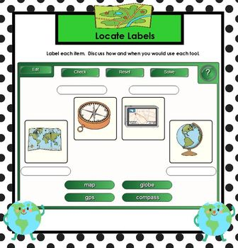Talking About Geography!:  SMARTBOARD Activities