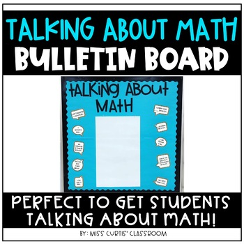Talking About Math Bulletin Board