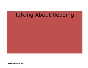 Talking About Reading Speech Bubbles