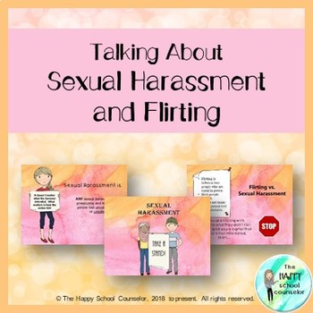 Talking About Sexual Harassment and Flirting: Middle School Lesson