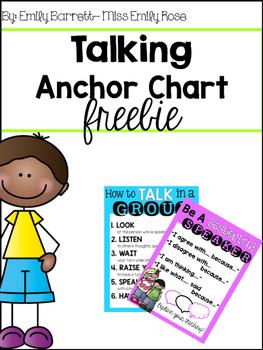 Talking Anchor Charts