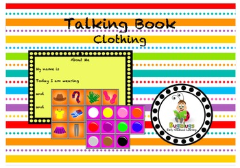 Talking Board What I Am Wearing Today Page