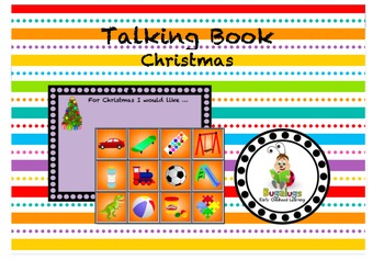 Talking Board What I Would Like For Christmas Page
