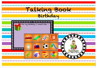 Talking Board What I Would Like For My Birthday Page