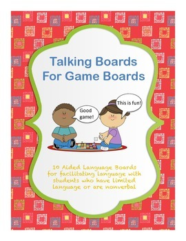 Talking Boards for Game Boards